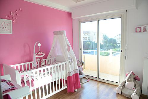 La chambre de b b nycyla - Dessin chambre bebe fille ...