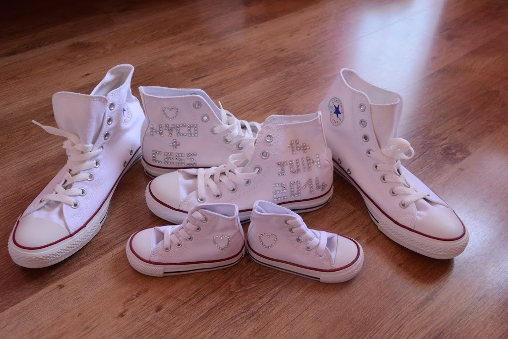 converse blanche femme mariage