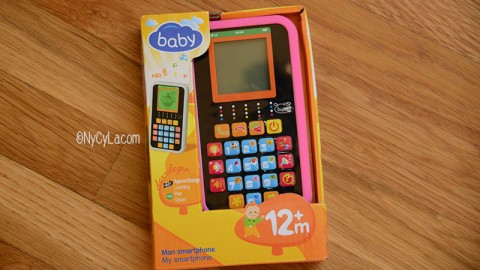 Son smartphone Baby Auchan {Concours}